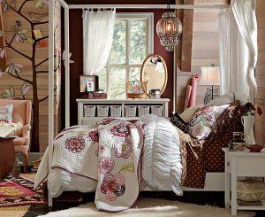 Alcune idee per arredare la camera da letto di una ragazza